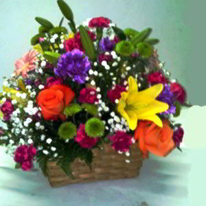 Morristown Florist | Glowing Basket
