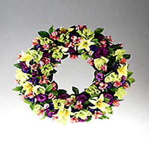 Morristown Florist | Spring Wreath