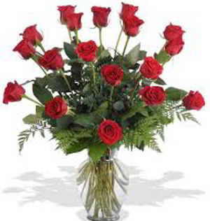 Morristown Florist | 18 Red Roses